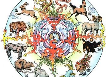 Cele 12 animale zodiacale chinezesti si interactiunile lor din harta ta natala