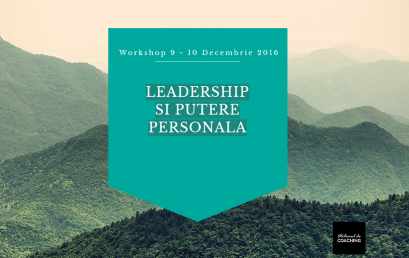 Leadership si putere personala